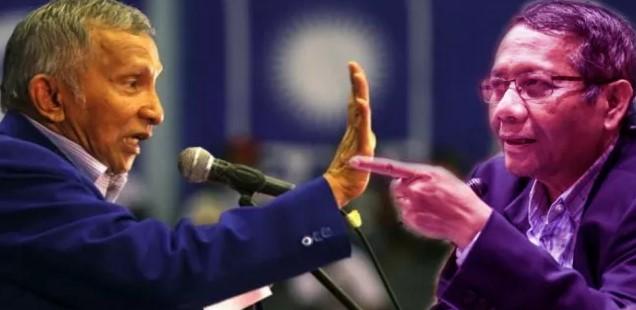 Mahfud MD Serang Balik Kritikan Amien Rais Masalah Keuangan BPIP