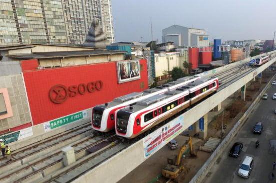 Pembangunan LRT 3200 KM, Jokowi Berpotensi Memimpin Korupsi 573 Triliun