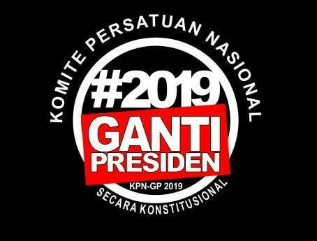 Komite Persatuan Nasional Ganti Presiden Akan Gelar Rapat Rakyat Indonesia
