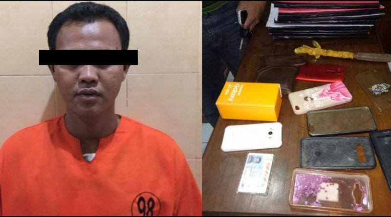 """Reskrim Polres Banyuwangi, Tangkap """"MF"""" DPO Jambret Mahasiswi"""