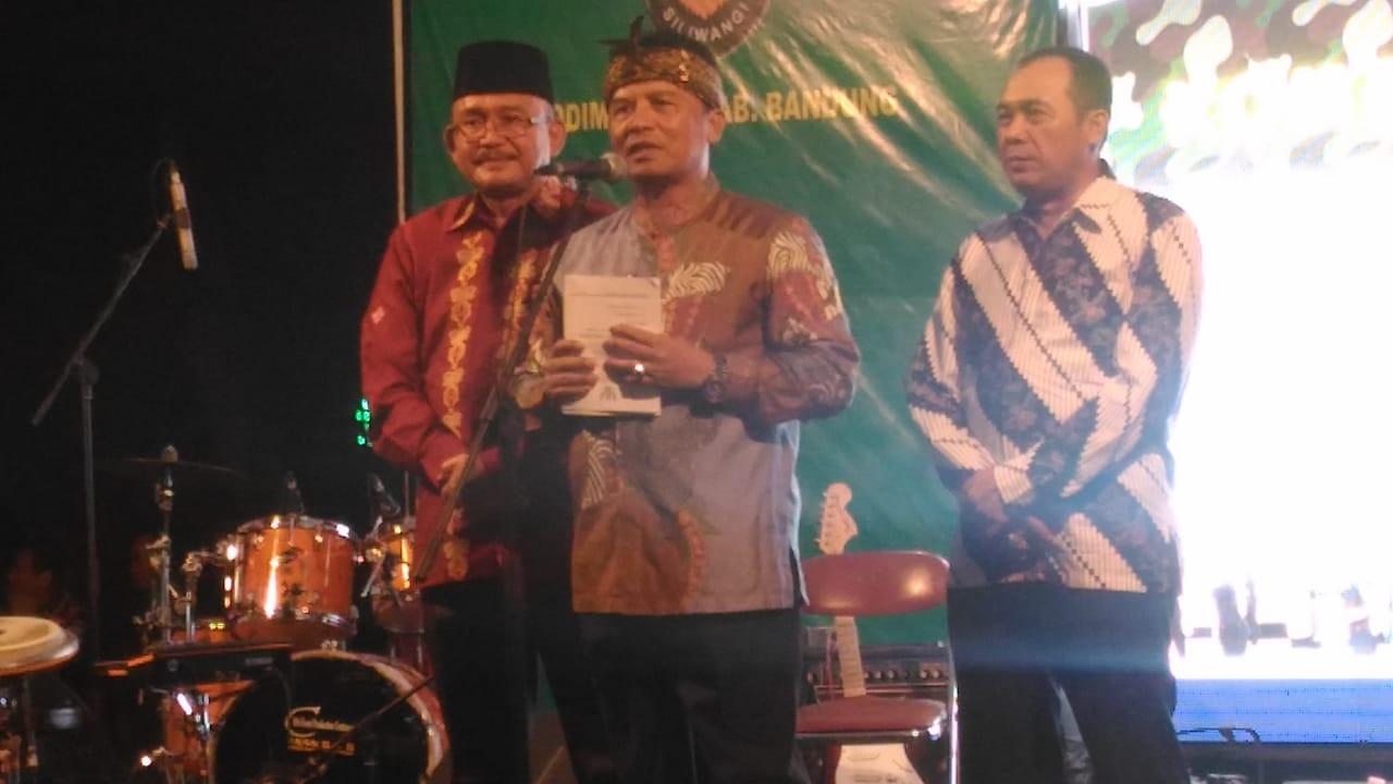 Malam Ramah Tamah dan Pisah Sambut Dandim 0609/Kab Bandung