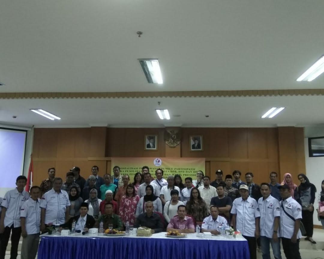 Sosialisasi Pengawasan Pemilu Kecamatan Gambir