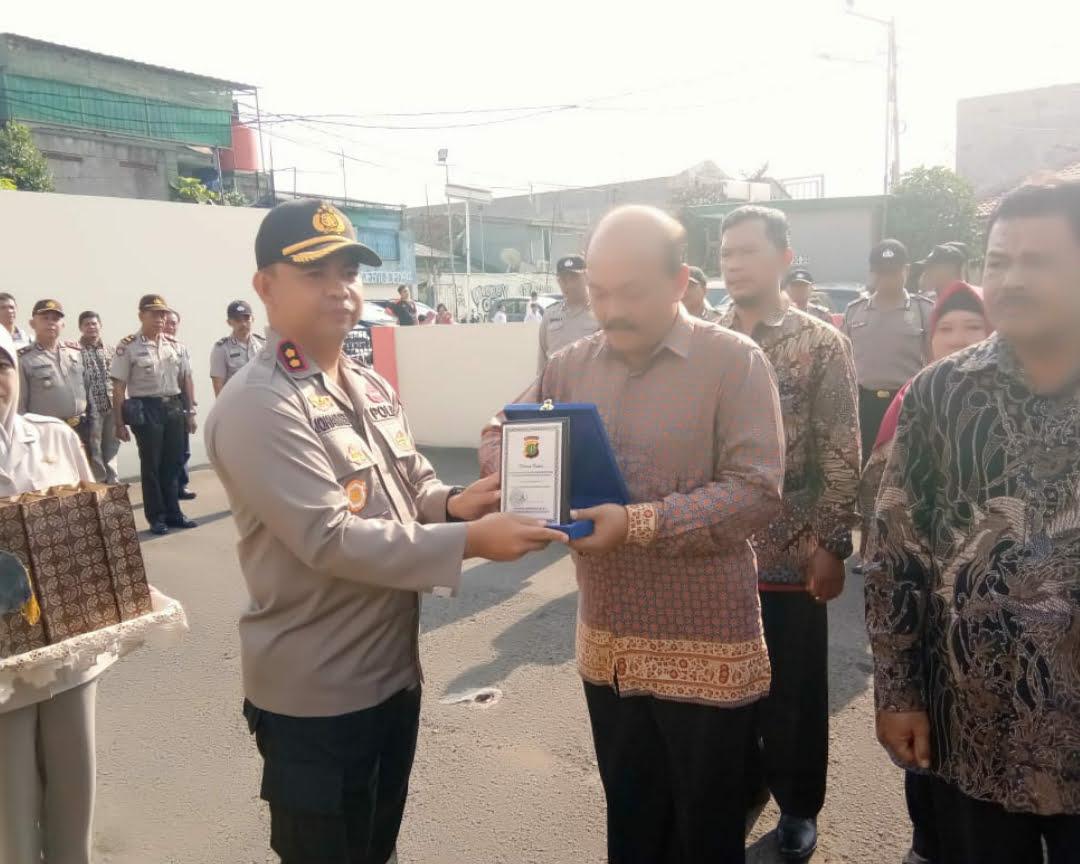 Purnabakti Tahun 2018, Polsek Gambir Adakan Upacara Pelepasan