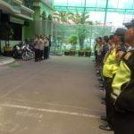 Polsek Metro Tamansari Gelar Apel Pengamanan Kirab Budaya
