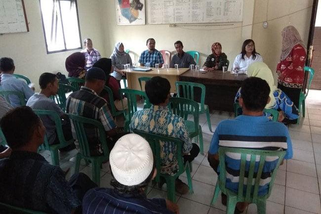 Kelurahan Sindang Sari Dikunjungi Konsultan Provinsi Program KOTAKU