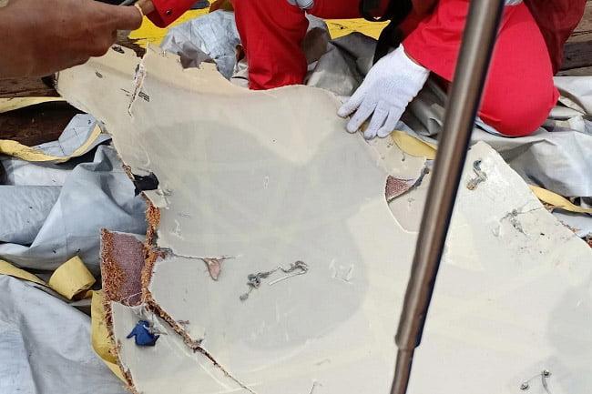 Serpihan Pesawat Lion Air JT-610 Ditemukan di Tanjung Karawang