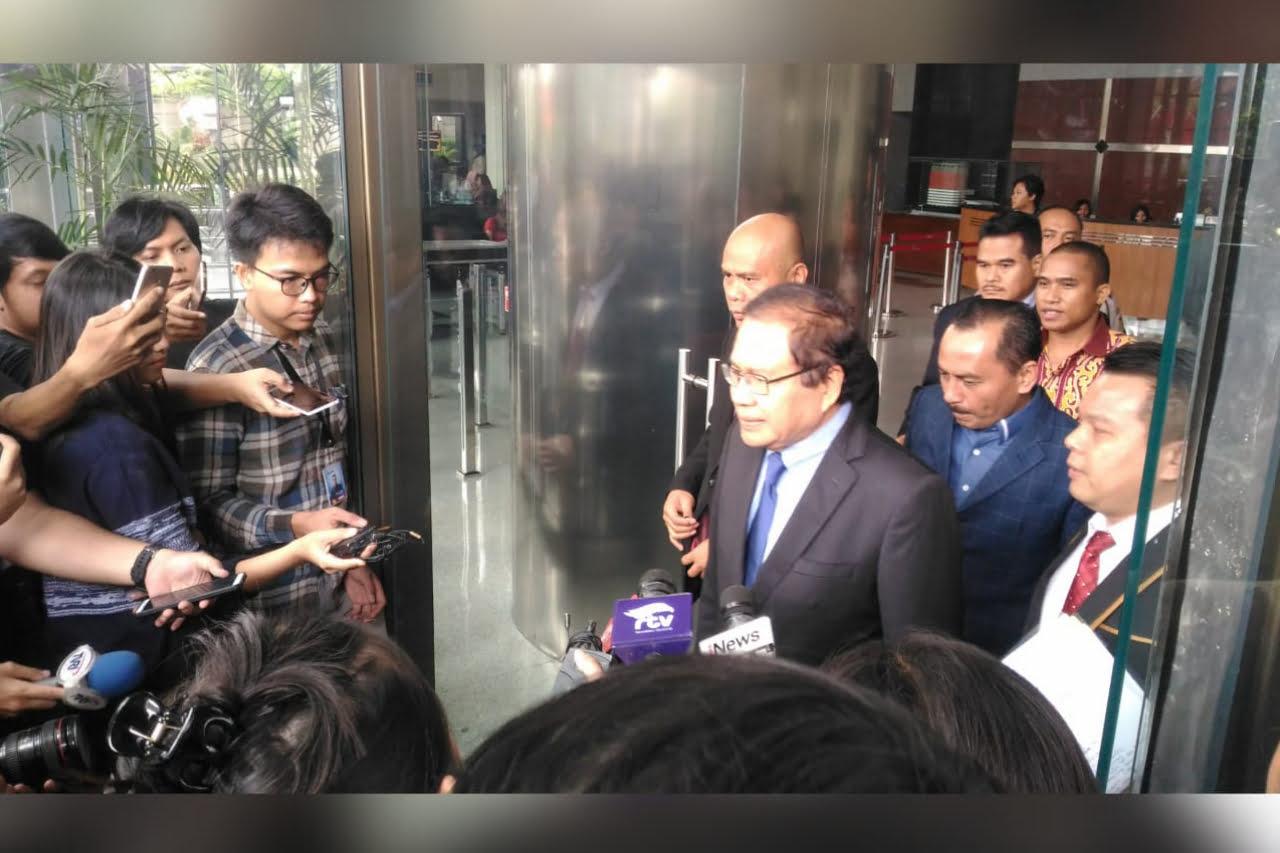 Rizal Ramli Sambangi KPK, Serahkan Berkas Laporkan Dugaan Tindak Pidana Korupsi Impor Pangan
