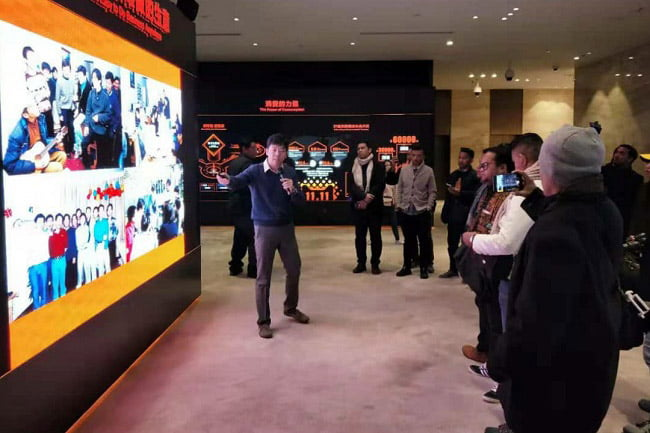 Delegasi GMKI Kunjungi Tiga Perusahaan Raksasa di Tongkok