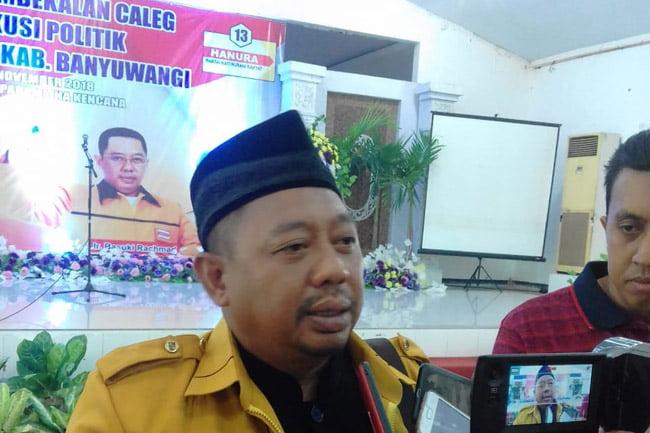 Target Perolehan Kursi Partai Hanura Banyuwangi Tidak Muluk-Muluk