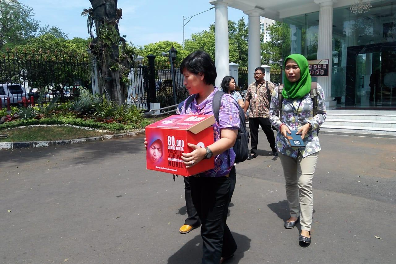 Temui KSP, Presiden Jokowi Berikan Amnesti Baiq Nuril