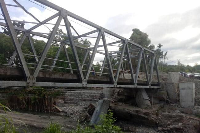 Jembatan Bumiwonorejo Siap Difungsikan Sebelum Natal