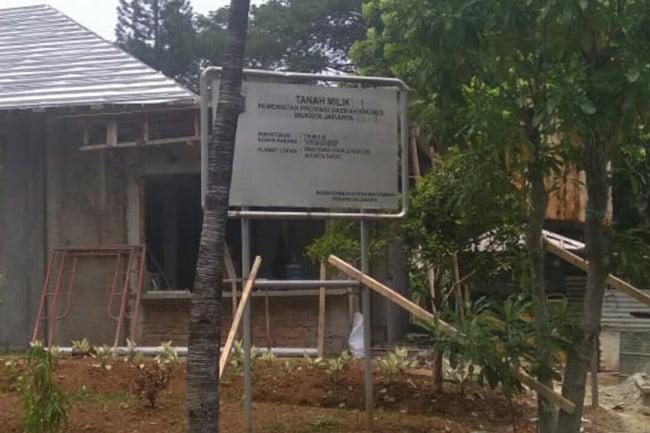 Bangunan Diatas Fasos Fasum Tidak Dibenarkan Apapun Alasannya