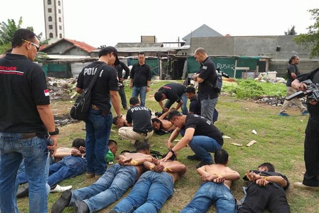 Menduduki Lahan, 25 Orang di Jakarta Barat Diringkus Polisi