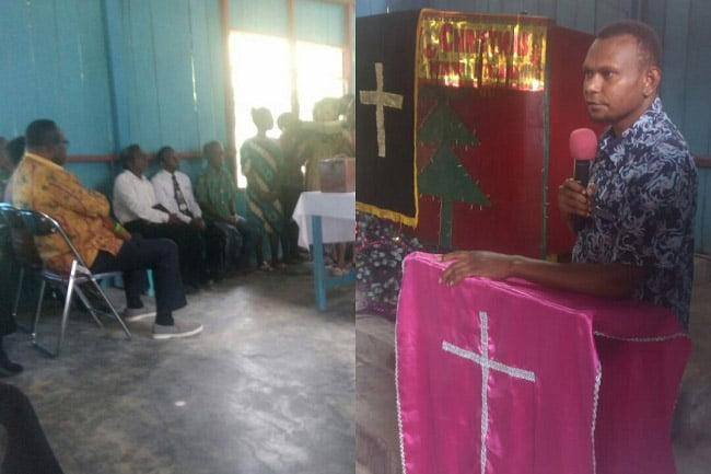 Bupati Maybrat Hadiri Acara Doa Perdamaian di GKI Solafide Tahsimara