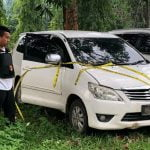 Polres Lampung Utara Temukan Mobil Wartawan Dufi