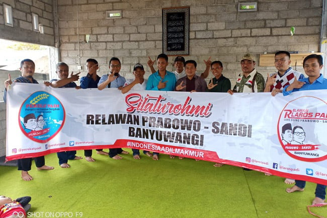 Relawan Padi Banyuwangi Gelar Kopdar Lintas Komunitas Relawan