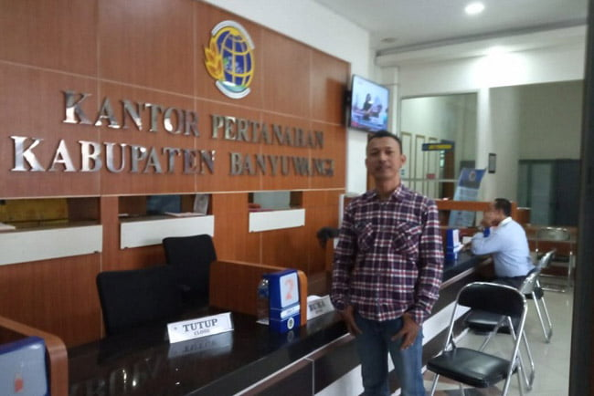 Ngurus Sertifikat 5 Tahun, Gebrak Datangi Kantor ATR/BPN Banyuwangi