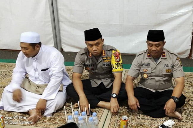 Polsek Ciledug Gelar Tangerang Raya Bersholawat