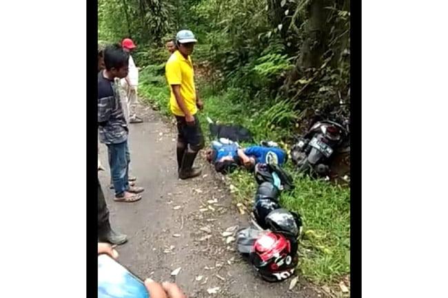Boncengan Tiga, Dua Orang Tewas Di Jalur Kawah Ijen Akibat Rem Blong