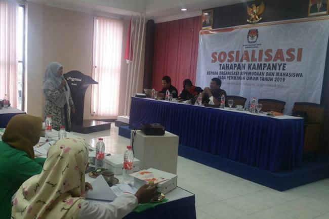Bawaslu dan KPU Brebes Gelar Sosialisasi Tahapan Kampanye