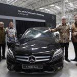 Mercedes-Benz C-Class Generasi Terbaru Kini Diproduksi di Wanaherang