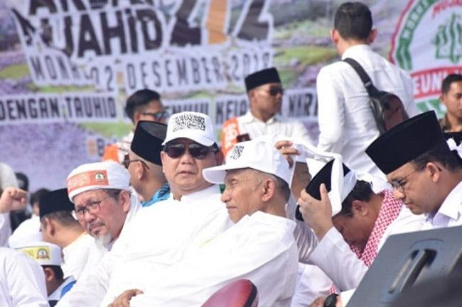 212 Sepi Pemberitaan, Prabowo: Kalian Tak Pantas Di Sebut Jurnalis