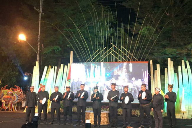 Zayu Srikandi Melayu Hadir di Wisata Festival Kuwung Banyuwangi