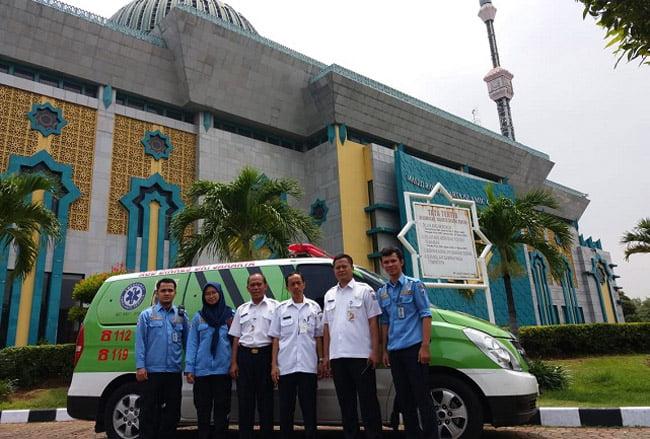 Ambulance Gawat Darurat Dinkes Provinsi DKI Jakarta Hadir di JIC Jakut