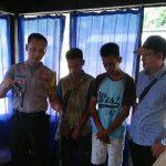 Diantar Orangtua, Pelaku Curas Serahkan Diri ke Polsek Sorong Kota