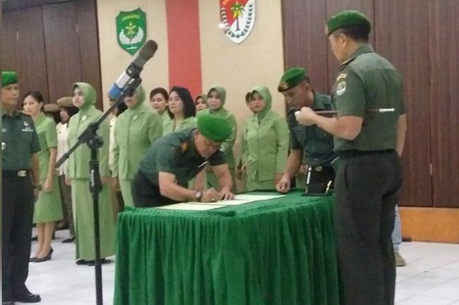 Sertijab Danramil Dipimpin Langsung Oleh Dandim 0503/JB