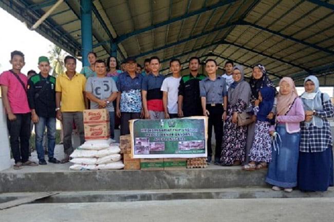 HMI Komisariat FKIP Unsyiah Peduli Musibah Banjir di Aceh Tenggara