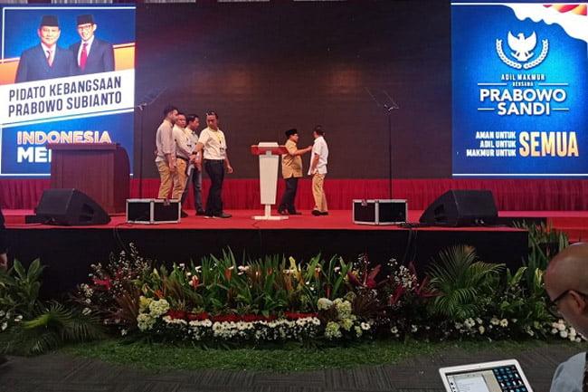 Prabowo Akan Menyatakan Mudur Dalam Pidato Kebangsaan Malam Ini