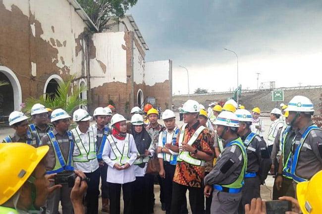 Gubernur Jawa Tengah Tinjau Rest Area Tol Pejagan-Pemalang