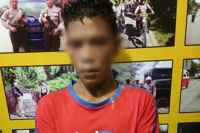 Pengecer Daun Ganja Ketengan di Desa Pasir Matogu Ditangkap Polisi