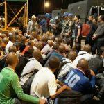 Lanal Tarempa Serahkan 64 Tahanan Kamla ke Rudenim Imigrasi