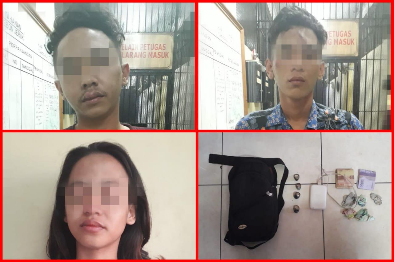 Tiga Pelaku Komplotan Jambret di Bekuk Reskrim Polsek Kebon Jeruk