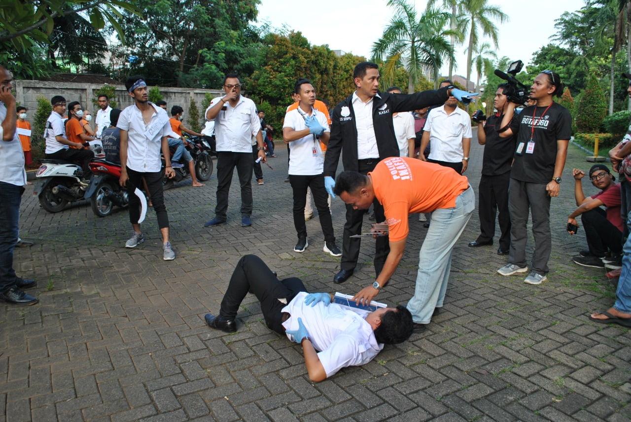 Polisi Gelar 11 Adegan Rekonstruksi Tewasnya Ahmat Al Fandri Oleh Geng Motor