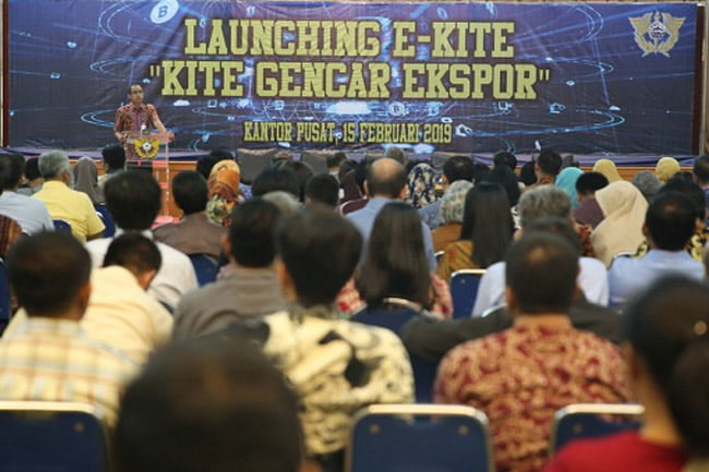 Gencarkan Ekspor, Bea Cukai Launching E-KITE