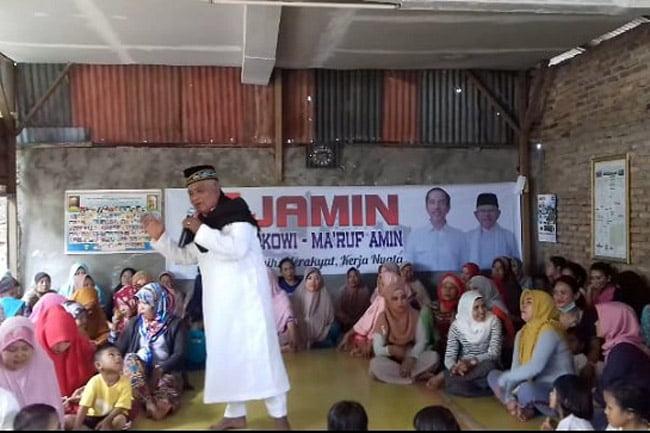 Relawan Kemenangan Jamin Medan Helvetia Lakukan Jumat Barokah