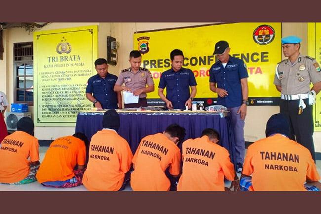 Sat Narkoba Polres Kota Sorong Ungkap Pengedaran Narkotika