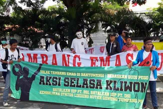 Fraksi PPP DPRD Banyuwangi Dukung Aksi Tolak Tambang Tumpang Pitu