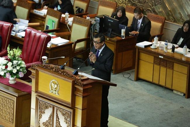 DPR Sahkan RUU Perjanjian Timbal Balik Indonesia-UEA