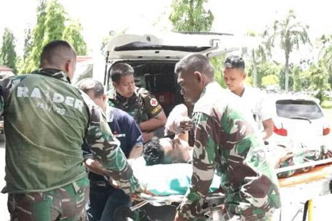 Anggota TNI Korban Kontak Tembak Mapenduma Dievakuasi ke Timika
