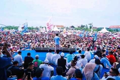 Sandiaga Uno di Lamongan, OK OCE dan Rumah Siap Kerja Adalah Solusi