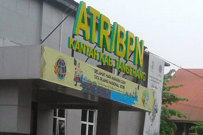 Sudah 2 Tahun BPN Kabupaten Tangerang Tidak Berani Adakan Mediasi