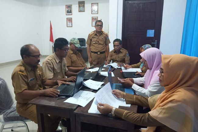 Ashar Dulu Jamin Kerahasian Soal Ujian UAS BNSD Kabupaten Muba