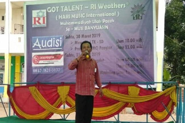 Got Talent RI Weathers Mendapat Apresiasi Masyarakat MUBA