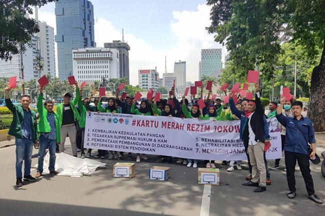 BEM SeJabodetabeka-Banten Kartu Merah Rezim Jokowi