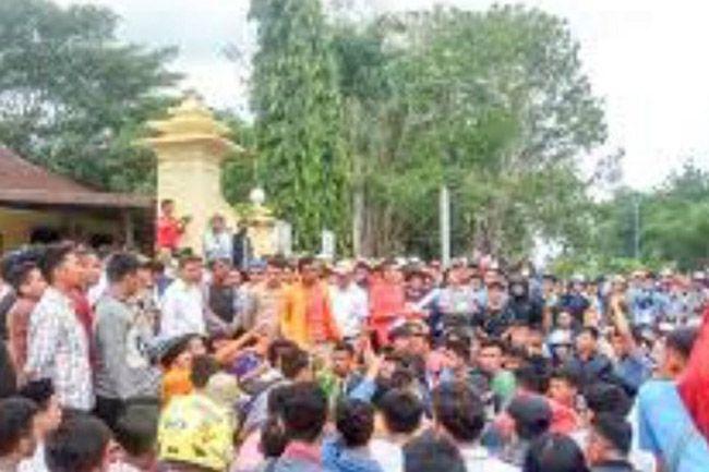 Protes Pemukulan Saat Demo, Mahasiswa Desak Kapolda Sultra Mundur