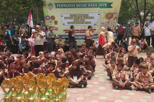 Pramuka LDII Jakarta Utara Adakan Pesta Besar Siaga di JIC